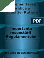 Reglementarea Jiridică a Circulației Rutiere