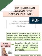 Kista Payudara Dan Perawatan Post Operasi Di Rumah