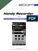 Zoom Handy Recorder version 2.0