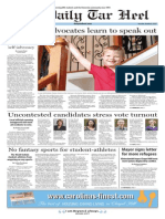 The Daily Tar Heel for Oct. 6, 2015