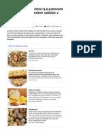 Conheça 13 Alimentos Que Parecem Saudáveis, Mas Podem Sabotar a Dieta - Notícias - Saúde