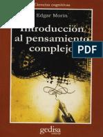 Edgar Morin El Pensamiento Complejo