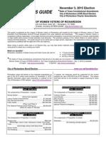 2015 VG - COR Bond and Charter