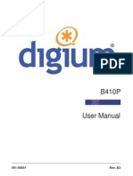 Digium B410P User Manual