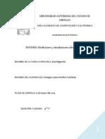 Investigación2 Mediciones Electrónicas