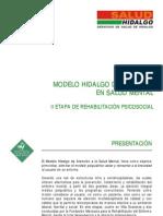 Modelo Hidalgo Salud Mental