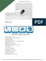 NC331 _ Câmeras Infra-Vermelho - Neocam