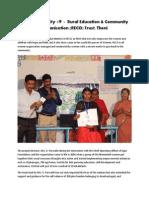 Agni Foundation - Project Identity #9 - RECO Trust, Theni.pdf