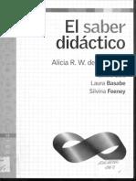 2. BASABE Y COLLS. La Enseñanza. en El Saber Didactico- Gris