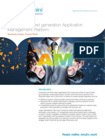 Capgemini Next Generation Application Management Platform