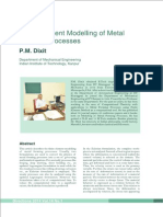 FEM modeling of Metal Forming