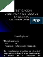 Clase 03 Investigacion Cientifica y Metodgtttro de La Ciencia