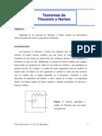 Teoria de Thevening y Northon