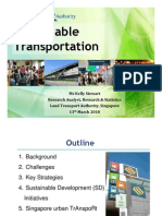 Singapore Land Transport Authority (LTA) Transport Strategy
