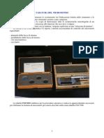 Taratura Del Micrometro Per Esterni