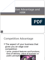Ch.4 HRM Strategies for Competitive Advantage