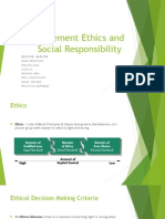 ES27 - Management Ethics and Social Responsibility