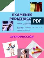 Examens pediatricos