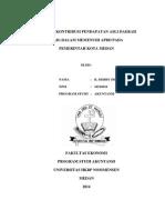 Analisis Kontribusi Pendapatan Asli Daerah (Pad) Dalam Memenuhi Apbd Pada Pemerintah Kota Medan