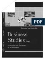 NCERT Class 12 Business Studies Part 1