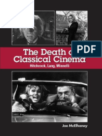 Joe McElhaney - The Death of Classical Cinema ~ Hitchcock, Lang, Minnelli