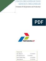 Manajemen Organisasi Pertamina