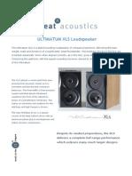 Neat+Acoustics+Ultimatum