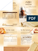 Callebaut - Leaflet Chocolate Couv White