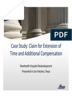 Revay -Case Study on Eot Claim
