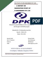 report on dpk engineers ltd.,