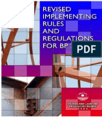 Revised Implementing Rules for  BP220 2008