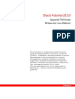 Autovue Supported File Formats Brochure