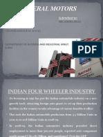 General Motors India Ppt
