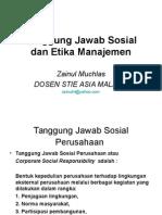 Etika Dan Tanggung Jawab Sosial1