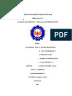 Analisis Paracetamol Total Dalam Cuplikan Urin[1]