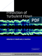 Prediction of Turbulent Flow