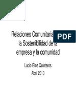 Lucio Rios-Responsabilidad Social y Desarrollo Sostenible