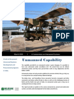 Religare Strategic Advisory Commentary - Unmanned Systems - March 2010
