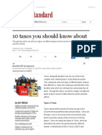 10 Taxes You Should Know About _ Business Standard News