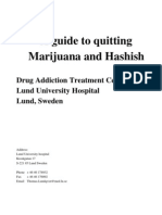 Swedish Guide to Quitting Marijuana and Hashish (Fewer Lies Than in US or UK Guides)