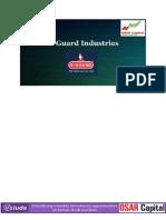 Osar capital- V Guard Industries- Osarcapital