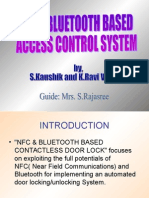 Bluetooth and NFC enabled contactless Access Control System