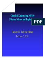 Lecture on Polymer Blends