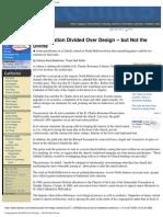 Congregation Divided Over Design