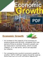 Report in Economics (Economic Growth and Economic Development)