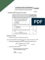 IPCC Advanced Accounting Model Exam Answer Key 22.03.2015