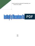 Institutii Mecanisme Comunitare