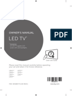 LG Smart TV User manual