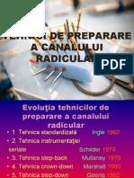 Preparare Canalului Radicular. Hidroxid de Calciu