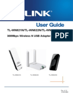 TP-LINK Wireless USB Adapter User Guide